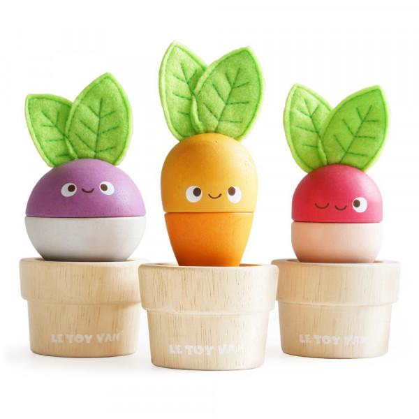Steckspiel Gemüse Petilou by Le Toy Van