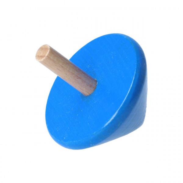 Holzkreisel Bartl Blau 107692