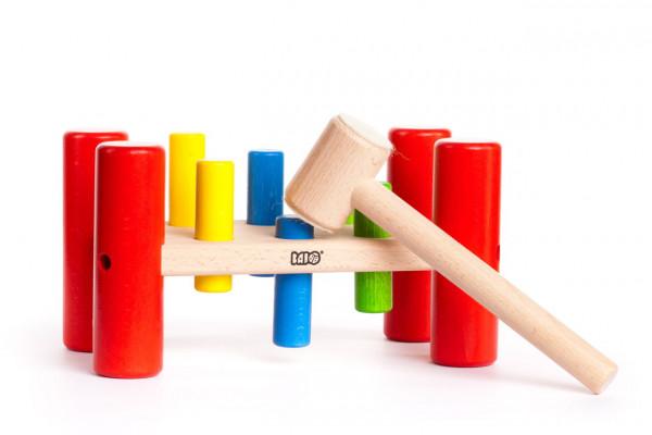 Holz Hammerspiel Bajo
