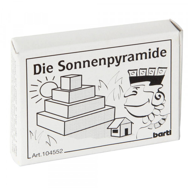 Die Sonnenpyramide Holz Puzzle Bartl 104552 Verpackung