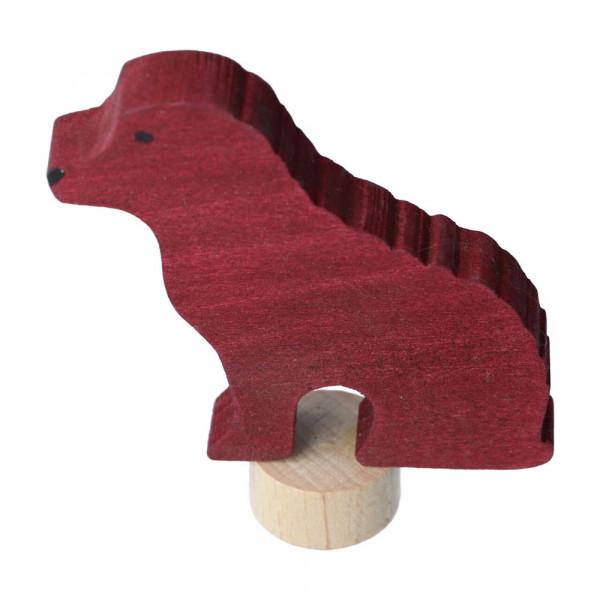 Holz Steckfigur Hund Grimm's