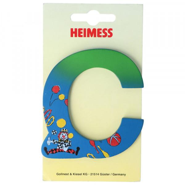 Holzbuchstabe C Heimess Blau