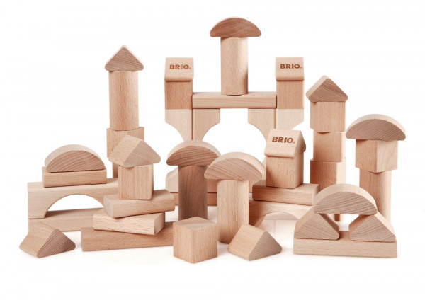 Natur Holzbausteine Brio Einzelteile Beispiel
