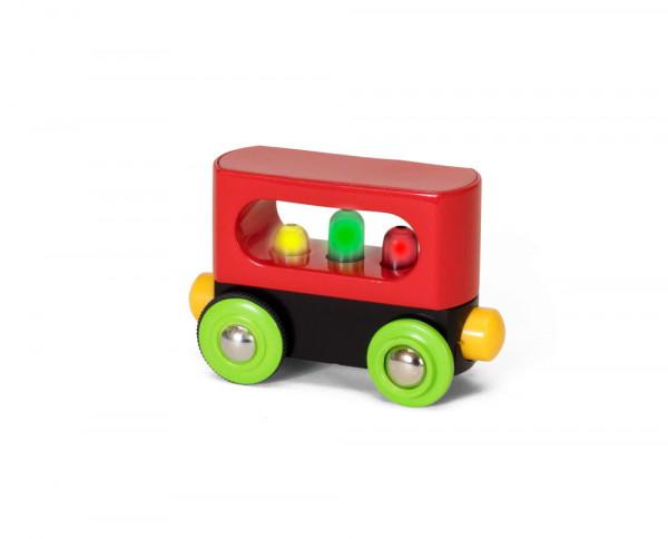 Eisenbahn Mein erster Waggon mit Licht Brio 33708