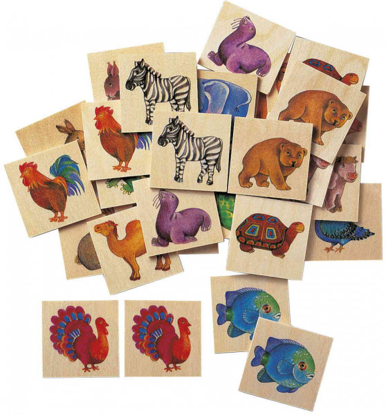 Memo Zoo Legespiel Selecta