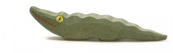 Naturholz Krokodil Holzfigur Ostheimer