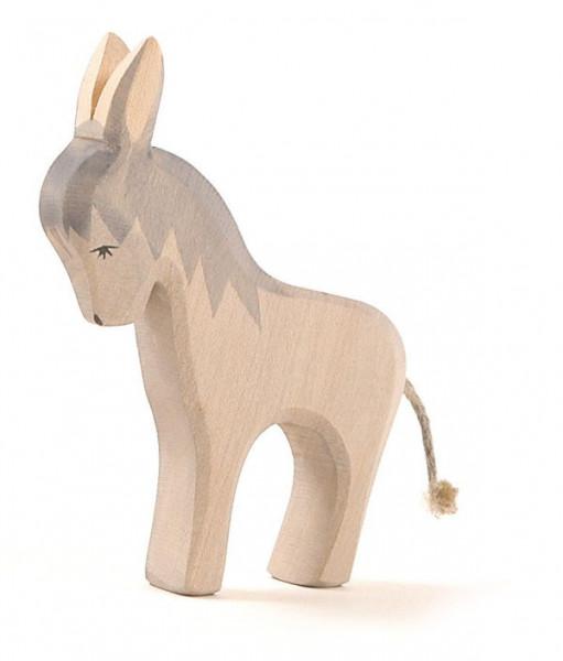 Naturholz Esel stehend Ostheimer 11201