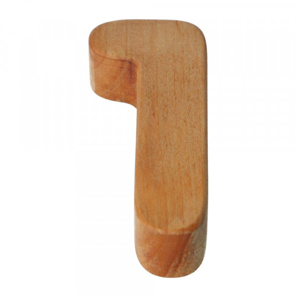Holzzahl Natur geölt 1 Bajo