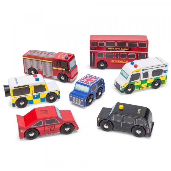London Car Set Spielauto Le Toy Van