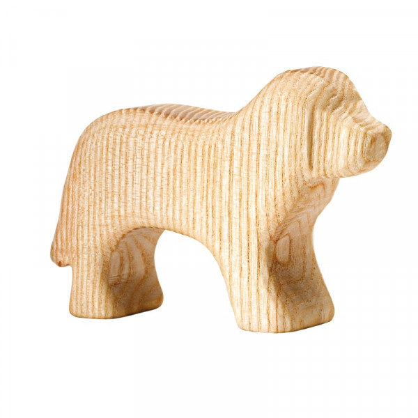 Naturholz Hund