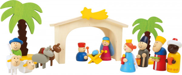 Spielset Holzkrippe small foot
