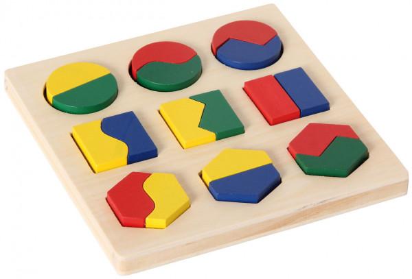 Geometrisches Formenspiel Bino