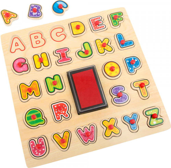 Stempel und Puzzle ABC small foot