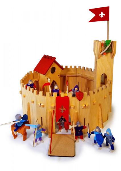 Ritterburg 64 teilig Decor Spielzeug Beispiel