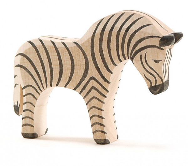 Naturholz Zebra Holzfigur Ostheimer