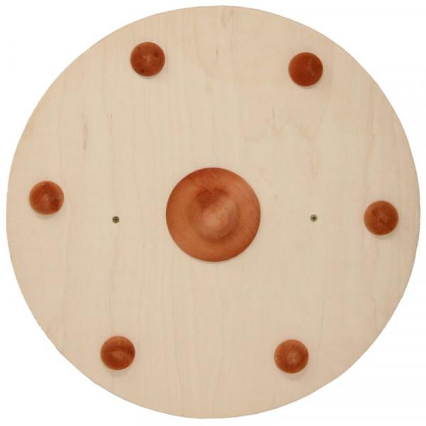 Wikinger - Schild mit Holzgriff Holzkiste
