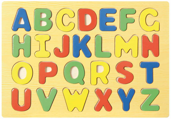 Buchstaben Steckpuzzle ABC small foot