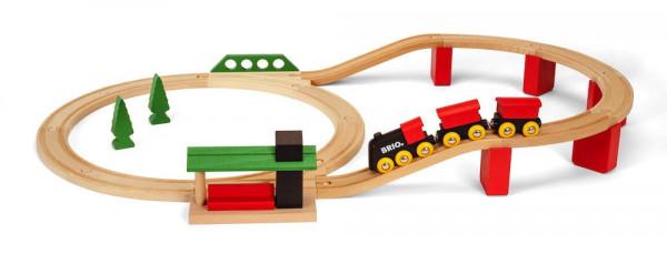 Eisenbahn Set Classic Deluxe Brio 33424