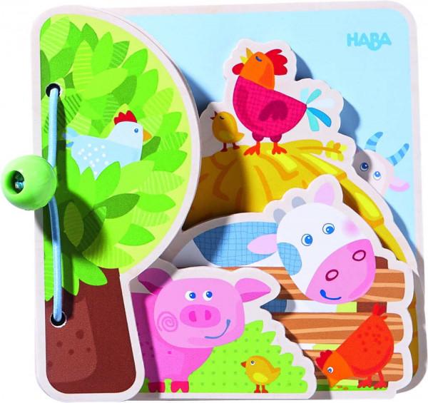 Bauernhoffreunde Babybuch Haba