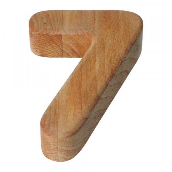 Holzzahl Natur geölt 7 Bajo