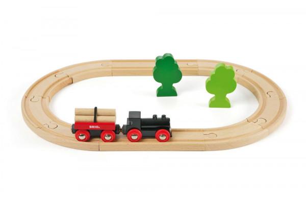Eisenbahn Set Classic kleiner Wald Bahn Brio 33042