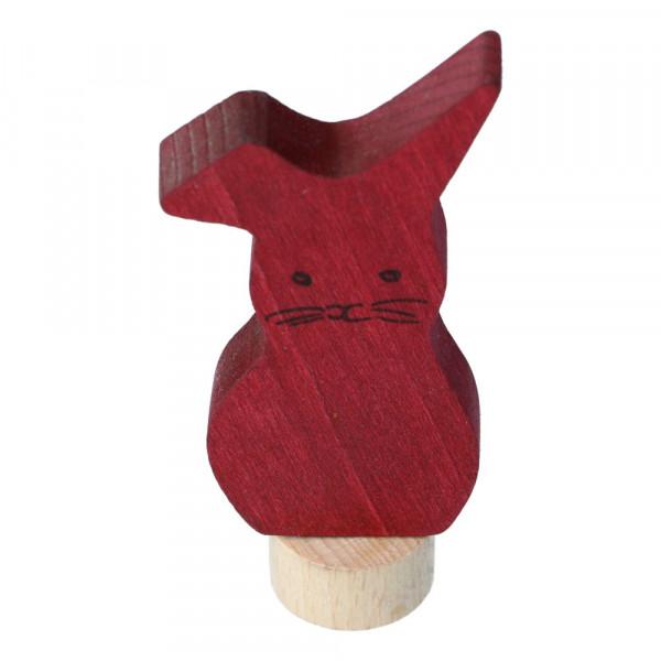 Holz Steckfigur Hase Grimm's Vorne