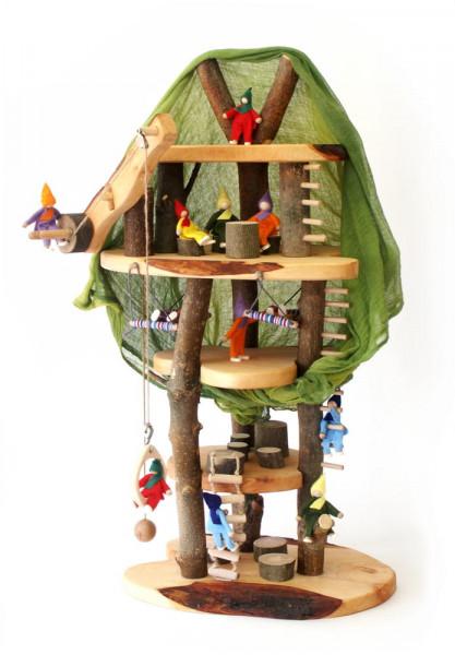 Holz Puppen Baumhaus Traum Magic Wood Beispiel