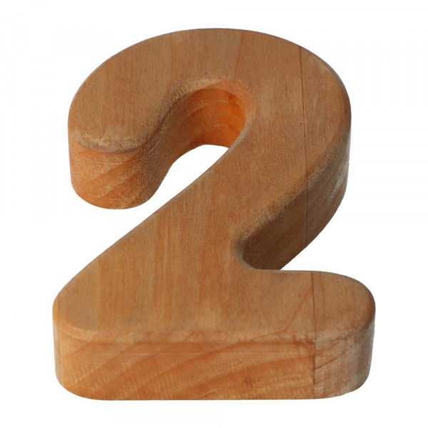 Holzzahl Natur geölt 2 Bajo