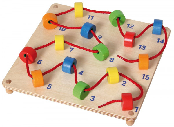 Fädelspiel Zahlen GoGo Toys