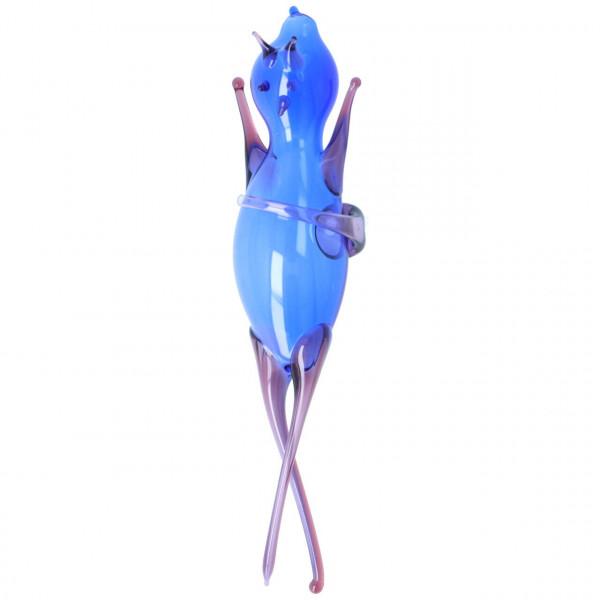 Thüringer Flaschenteufel Wassertänzer Blau