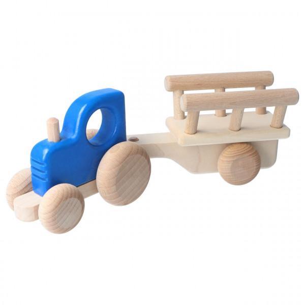 Traktor mit Anhänger Bajo