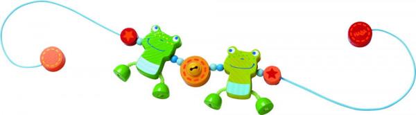 Froschfreunde Kinderwagenkette Haba