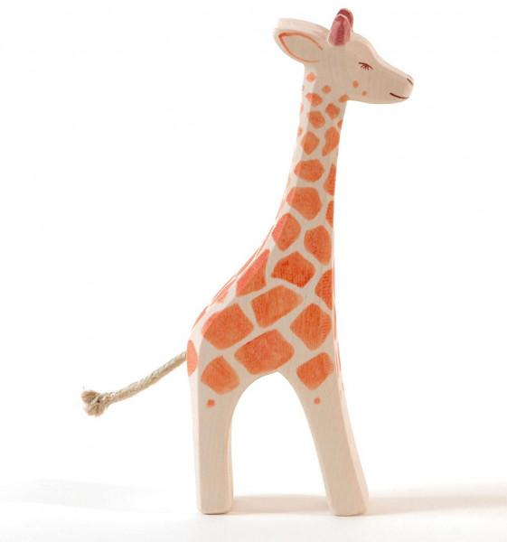 Naturholz Giraffe stehend Ostheimer