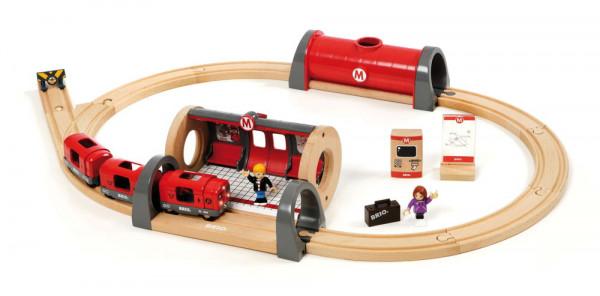 Eisenbahn Set Metro Bahn Brio 33513