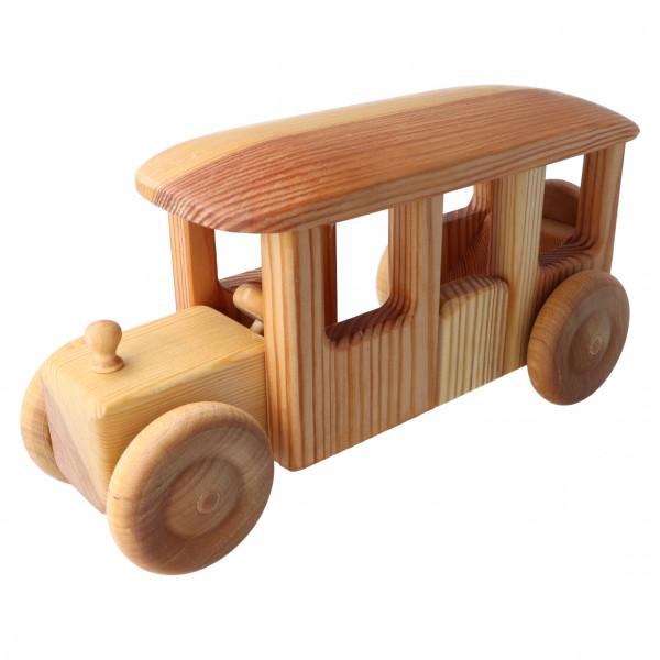 Großer Holz Bus Debresk
