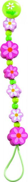 Sommerblumen Schnullerkette Haba