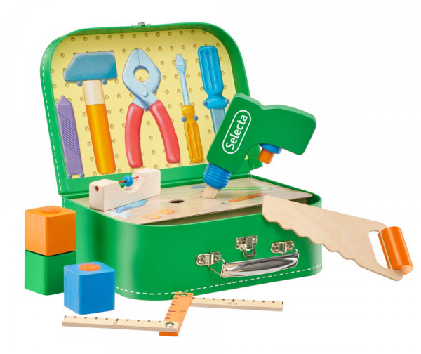 Werkzeugkoffer Holz Selecta