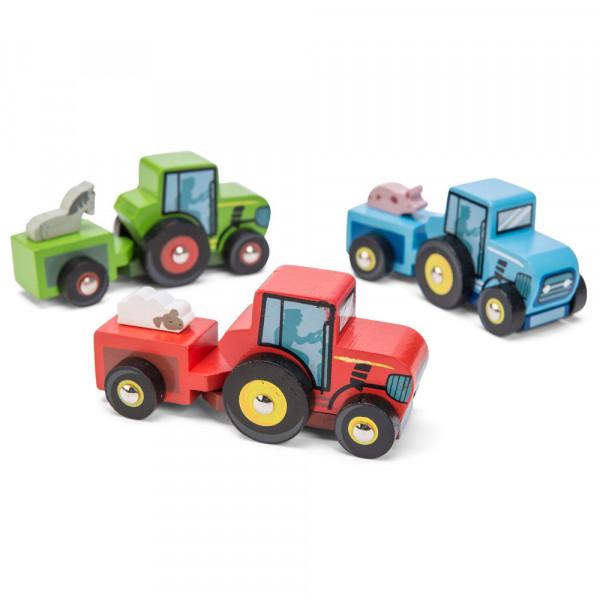 Kleiner Traktor Spielzeugauto Le Toy Van