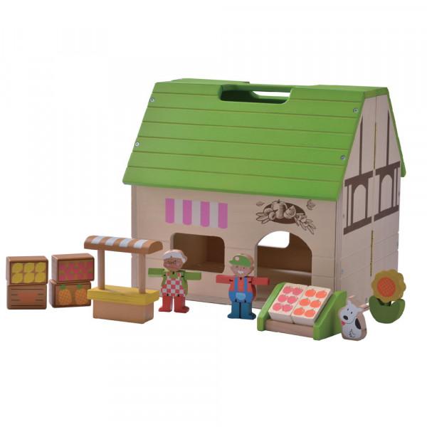 Bio Laden Puppenhaus EverEarth