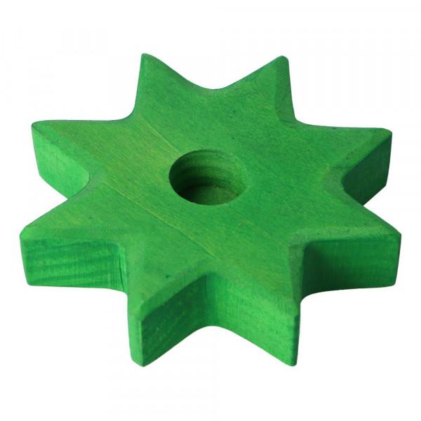 Holz Lebenslicht Stern Grimm's Grün