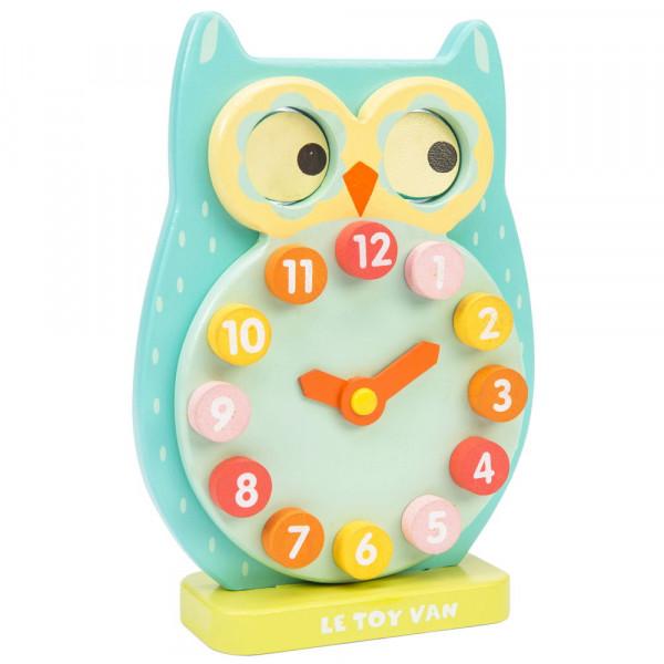 Blink Owl Clock Petilou by Le Toy Van Lernuhr Produkt