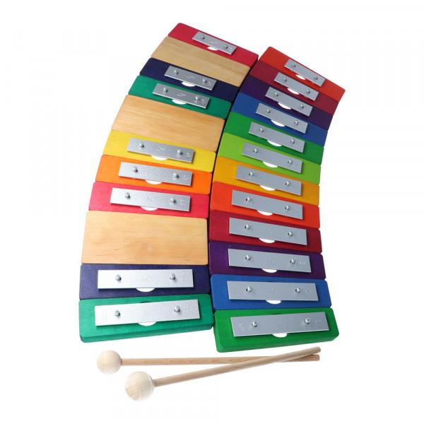 Regenbogenglockenspiel 20 Töne chromatisch Decor Spielzeug