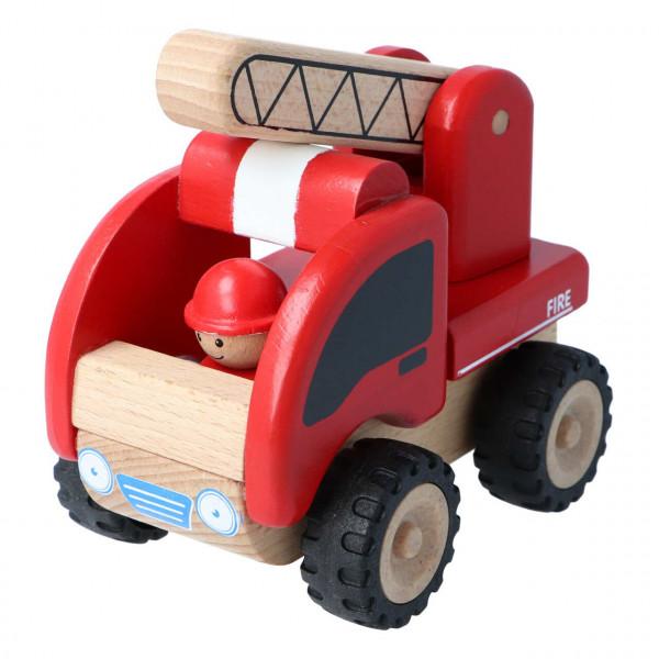 Mini Feuerwehr Wonderworld mit beweglicher Leiter