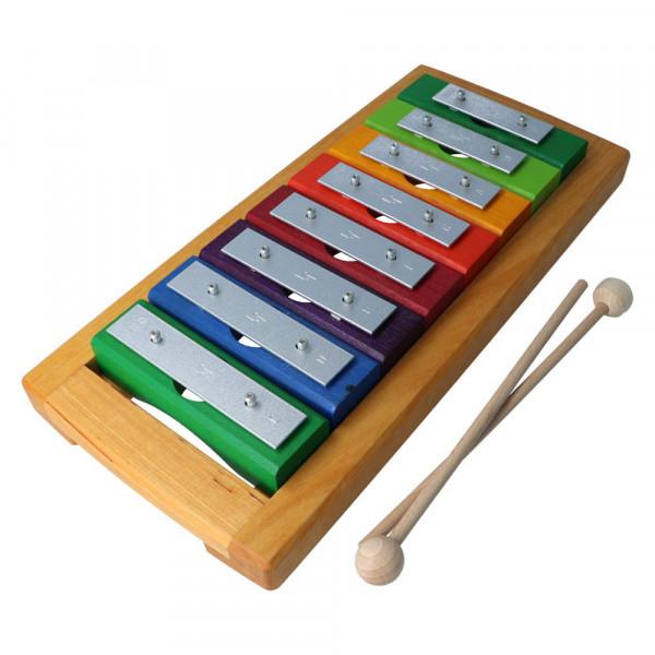 Einzelton - Glockenspiel 8 Töne diatonisch Decor Spielzeug